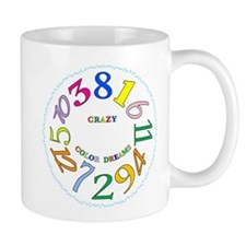 CrazyColorDreams01 Mugs