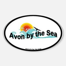 Avon by the Sea Oval Decal