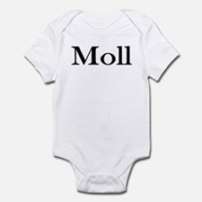 "Instant ""Moll"" Costume Infant Creeper"