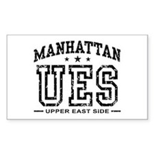 Upper East Side Rectangle Decal