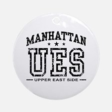 Upper East Side Ornament (Round)