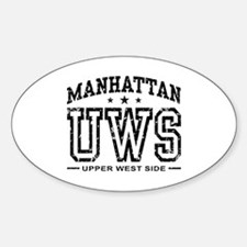 Upper West Side Oval Decal