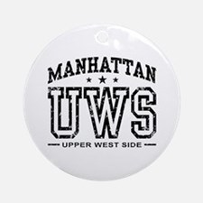 Upper West Side Ornament (Round)
