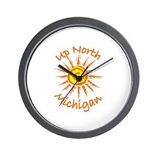 Up North, Michigan Wall Clock