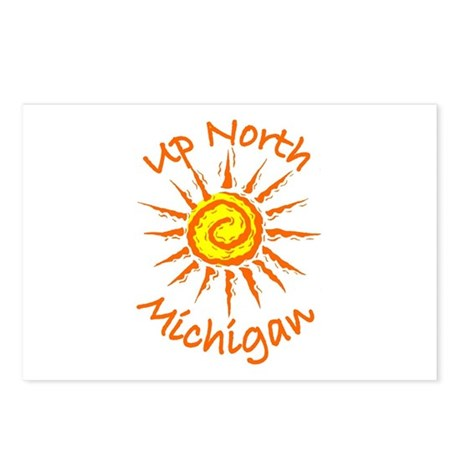 Up North, Michigan Postcards (Package of 8)