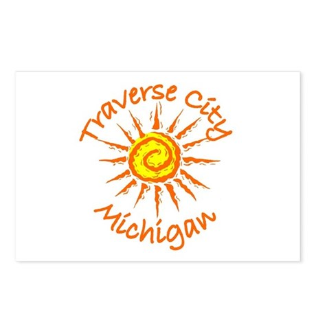 Traverse City, Michigan Postcards (Package of 8)