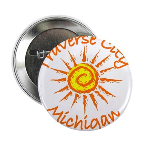 "Traverse City, Michigan 2.25"" Button (10 pack)"