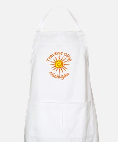 Traverse City, Michigan BBQ Apron