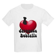'I Love JapBobs' Kids T-Shirt