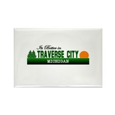 It's Better in Traverse City, Rectangle Magnet