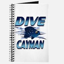 Dive Cayman (blue) Journal