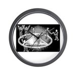 Afternoon Sobriety Wall Clock