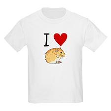 I love Hamsters Kids T-Shirt