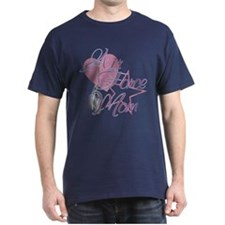 Air Force Mom Heart N Star T-Shirt