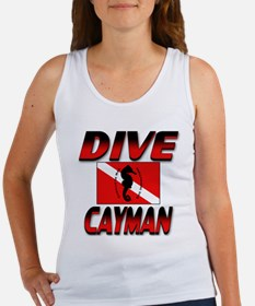 Dive Cayman (red) Women's Tank Top