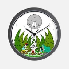 Camping FUN Wall Clock
