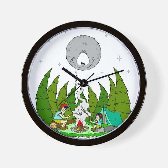 Camping FUN Wall Clock