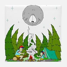 Camping FUN Tile Coaster