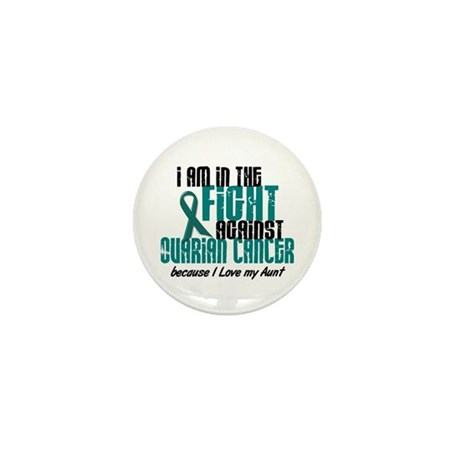 In The Fight Ovarian Cancer 1 (Aunt) Mini Button (