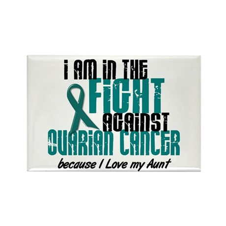 In The Fight Ovarian Cancer 1 (Aunt) Rectangle Mag