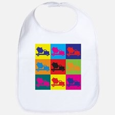 Concrete Pop Art Bib