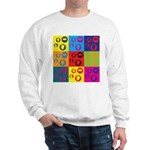 Coins Pop Art Sweatshirt
