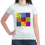 Coins Pop Art Jr. Ringer T-Shirt