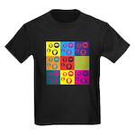 Coins Pop Art Kids Dark T-Shirt