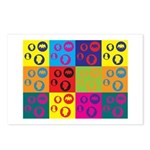 Coins Pop Art Postcards (Package of 8)
