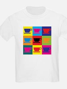 Coffee Pop Art T-Shirt