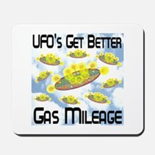 UFO's Get Better Gas Mileage Mousepad