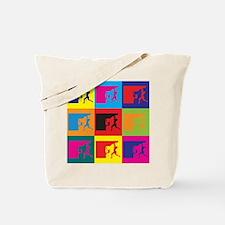 Climbing Pop Art Tote Bag