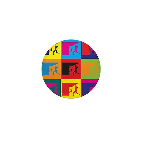 Climbing Pop Art Mini Button (10 pack)