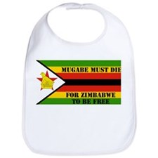 Death to Mugabe Bib