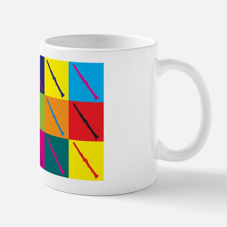 Clarinet Pop Art Mug
