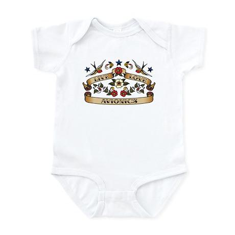 Live Love Avionics Infant Bodysuit