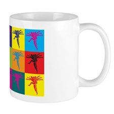 Choreography Pop Art Small Mug