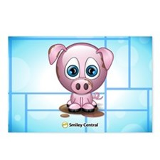 Piggy Postcards (Package of 8)
