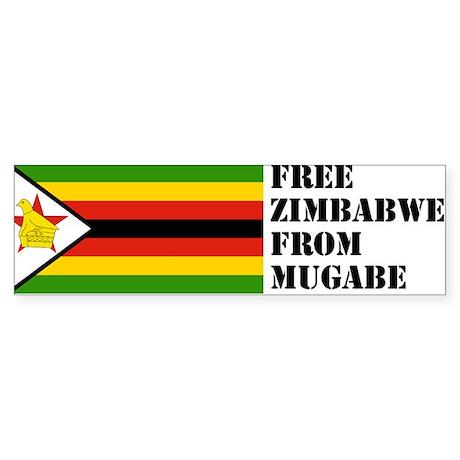 Zimbabwe Bumper Sticker (10 pk)