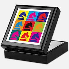 Chess Pop Art Keepsake Box