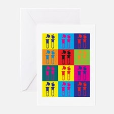 Chemistry Pop Art Greeting Cards (Pk of 20)