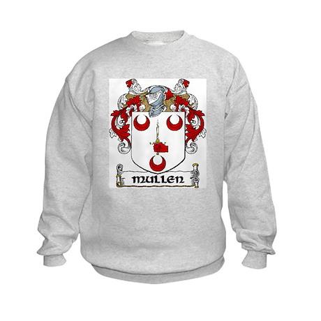 Mullen Coat of Arms Kids Sweatshirt