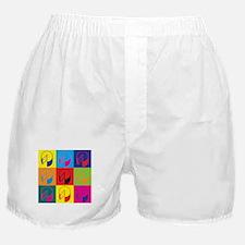 Cheese Pop Art Boxer Shorts