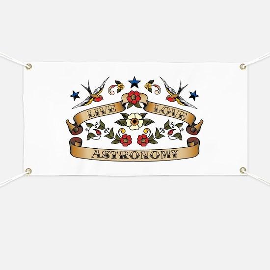 Live Love Astronomy Banner