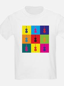 Cello Pop Art T-Shirt