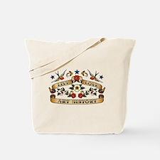 Live Love Art History Tote Bag