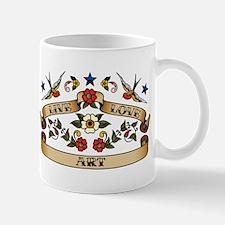 Live Love Art Mug