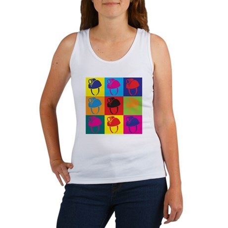 Caving Pop Art Women's Tank Top