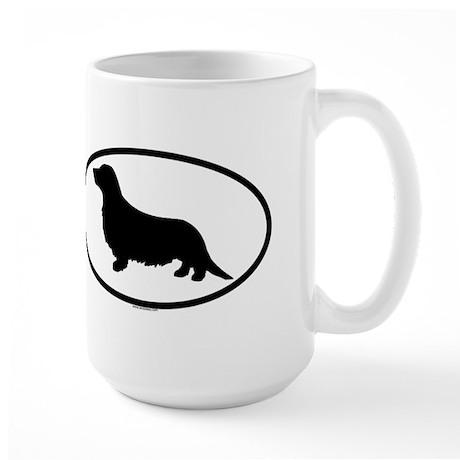 DACHSHUND LONGHAIR Large Mug