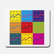Budget Analysis Pop Art Mousepad